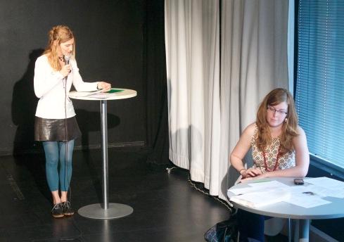 Poesiafton med Lalo Barrubia på Luckan, Helsinfors
