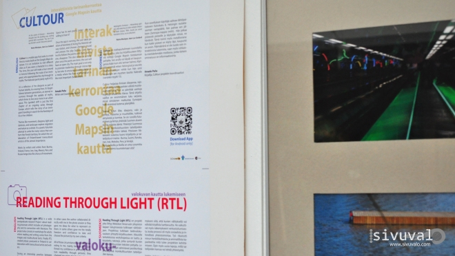 Cultour and Reading Through Light Projects [Photo by Daniel Malpica]