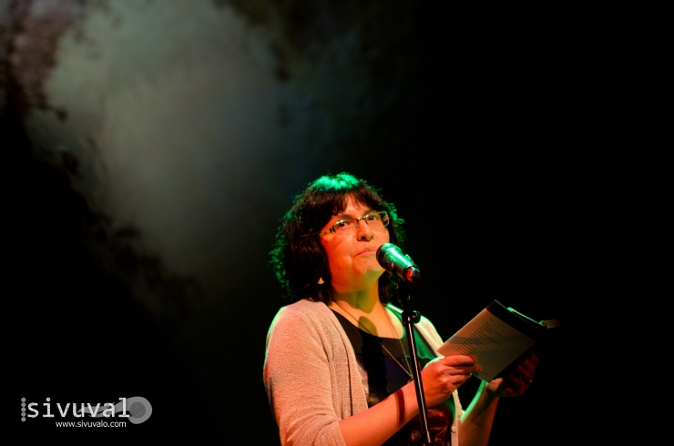 Peruvian poet Zoila Forss [Photo by: Jaime Culebro]