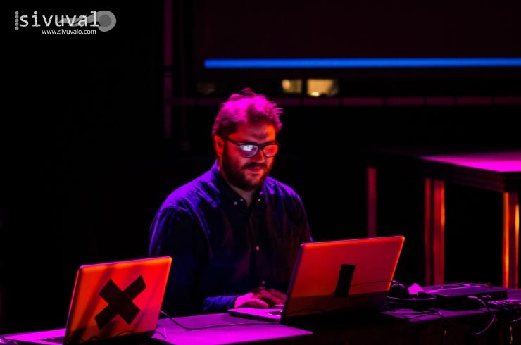 Spanish sound artist Josué Moreno [Photo by: Jaime Culebro]